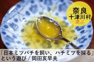 「日本ミツバチを飼い、ハチミツを採る」という遊び/岡田亥早夫/十津川村トライアルステイ